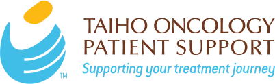 TAIHO ONCOLOGY PATIENT SUPPORT logo